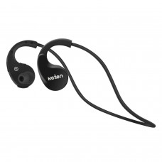 Keten KB16 V4.0 Sport Bluetooth Headphones Stereo Wireless Sweatproof Earbuds Black