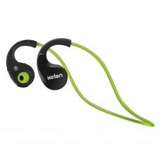 Keten KB16 V4.0 Sport Bluetooth Headphones Stereo Wireless Sweatproof Earbuds Green