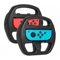 Keten Nintendo Switch Wheel Mario Kart Steering Joy-Con Wheel for Nintendo Switch Games (2 Pack)