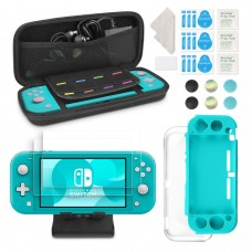 Keten 12 in 1 Accessories Kit for Nintendo Switch Lite, Comes with Nintendo Switch Lite Carry Case/Silicone Cover/HD Screen Protectors/Stand/TPU Cover/Joy-con Stick Caps